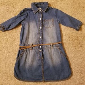 Carter's Girls 3T Denim Dress